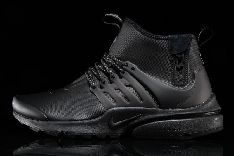 Nike Air Presto Mid Utility Triple Black