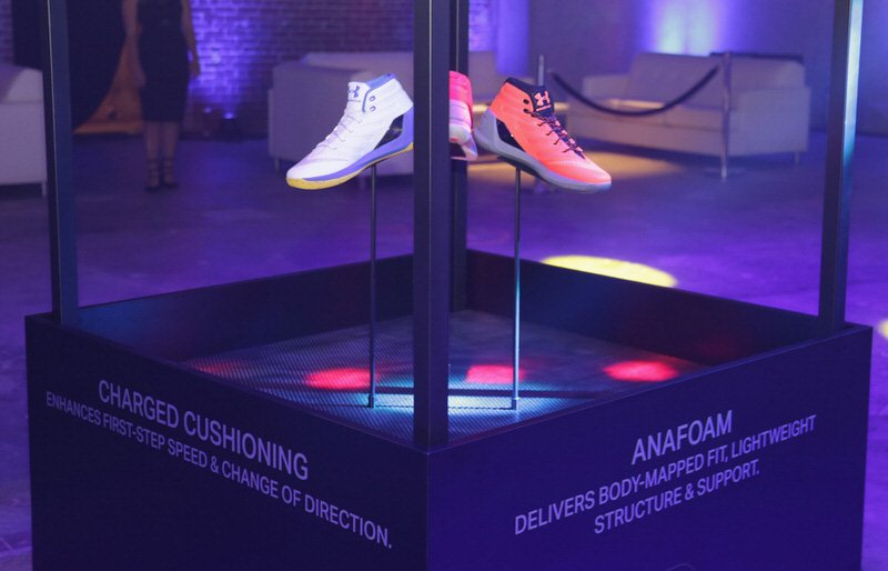 SAN FRANCISCO, CA - OCTOBER 22:  General view at the Under Armour Curry 3 Launch at Skylight Powerhouse on October 22, 2016 in the Bay Area, California.  (Photo by Jerritt Clark/Getty Images for Under Armour)