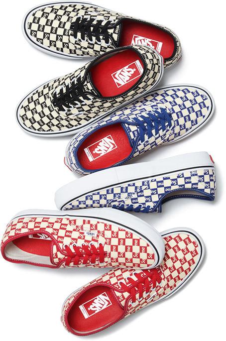 Supreme x Vans Collection