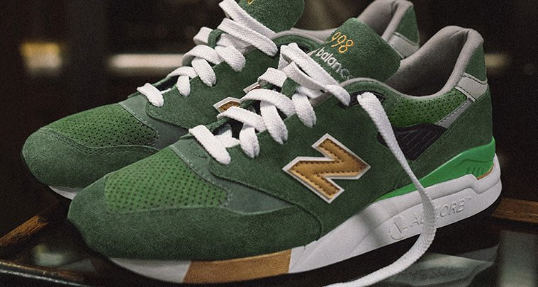 J.Crew x New Balance 998 Greenback