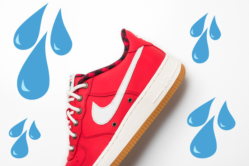 This New Nike Air Force 1 is Raining Buckets | Nice Kicks