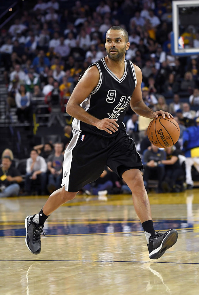 Tony Parker looks to make a move in his PEAK signature