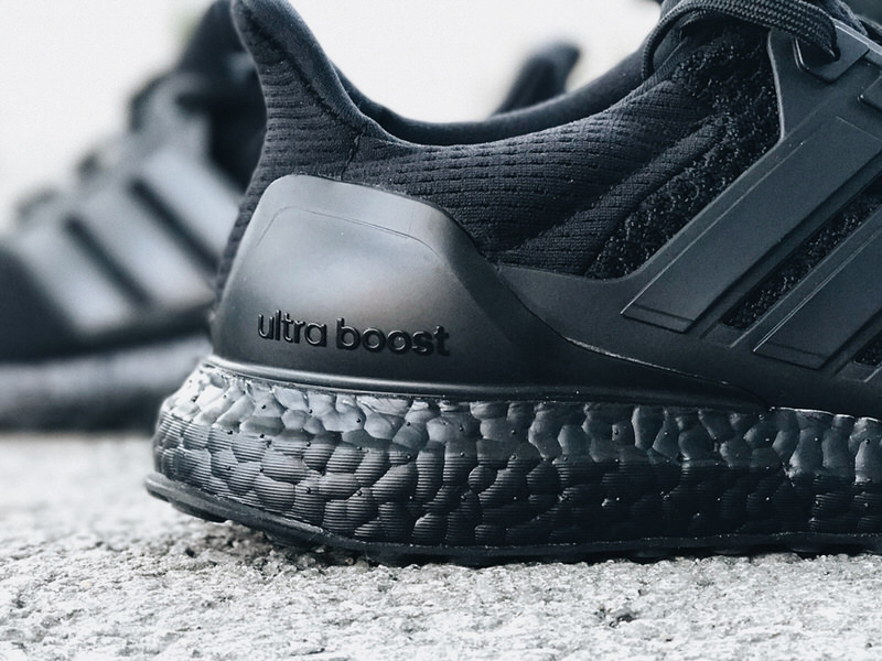 White Black Womens Adidas Ultra Boost Shoes Look