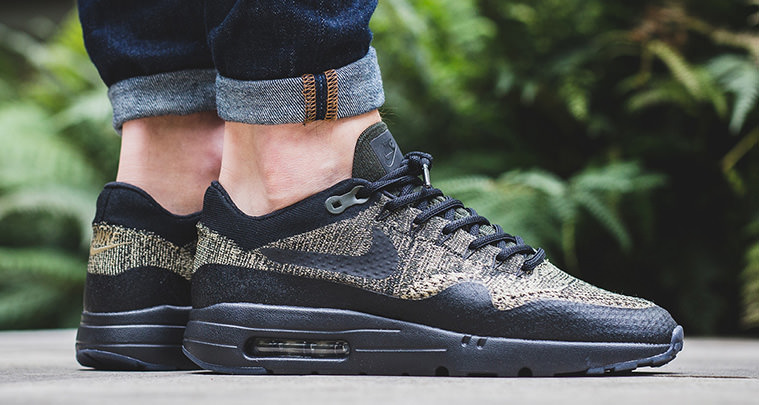 nike air max 1 ultra flyknit olive