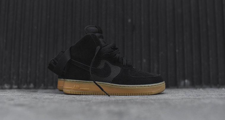 Nike Air Force 1 High Black/Gum