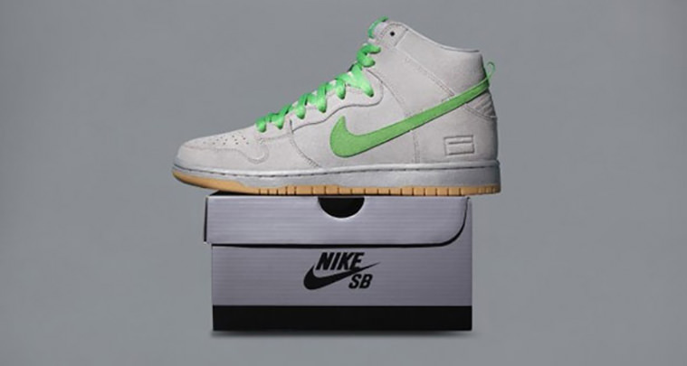 the latest f95a7 8575c ... Premium (Silver Box) – Premier Nike SB Dunk High Nike SB Grey ...