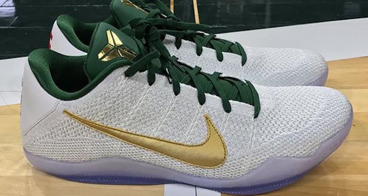 Nike Kobe 11 Elite Spartans PE