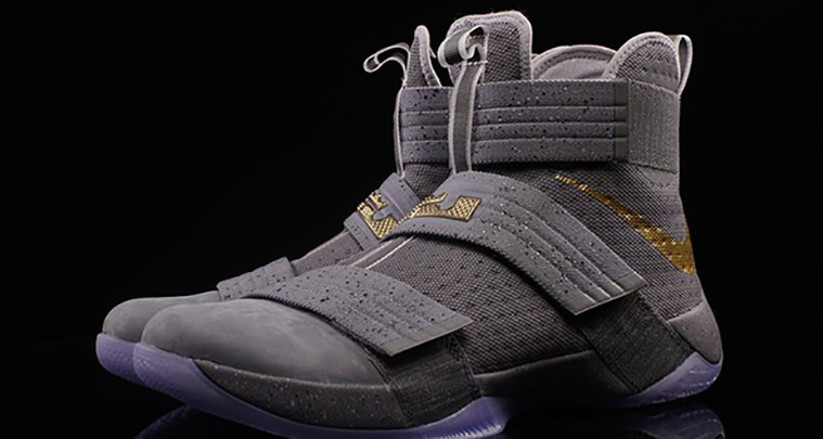 Nike LeBron Soldier 10 Cool Grey