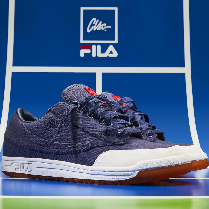 CLSC x FILA Original Tennis Pack Drops Today Hyggelige spark  Nice Kicks