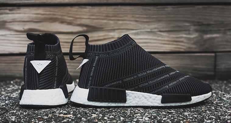 ADIDAS NMD CITY SOCK (WHITE/CORE BLACK) Sneaker Freaker