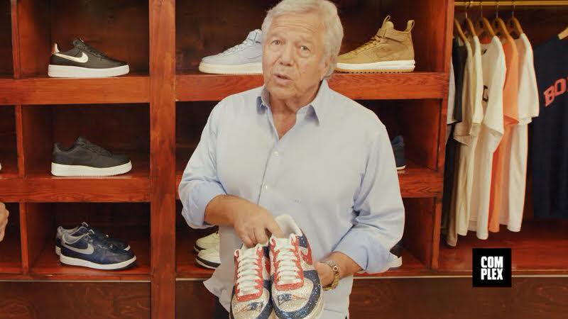 Joe La Puma Goes Sneaker Shopping with Robert Kraft