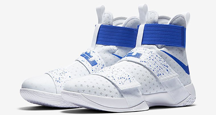 uk availability f1480 c377e 60%OFF Nike LeBron Soldier 10 Hyper Cobalt Drops Tomorrow ...