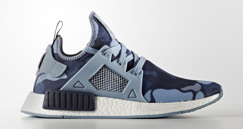 Adidas NMD XR1 Primeknit 'Glitch White/Core Black' The Sneaker