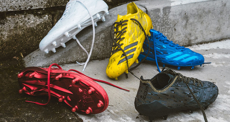 """adidas Football """"Dipped"""" Cleat Collection"""