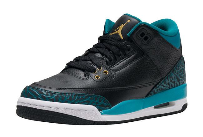 """Air Jordan 3 GS """"Rio Teal"""""""