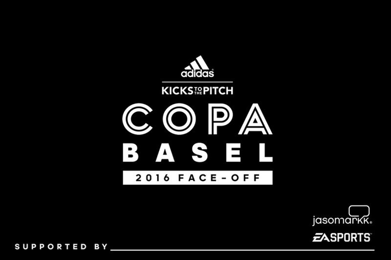 """Event // Kicks to the Pitch x adidas Soccer """"Copa Basel - The Face Off"""""""