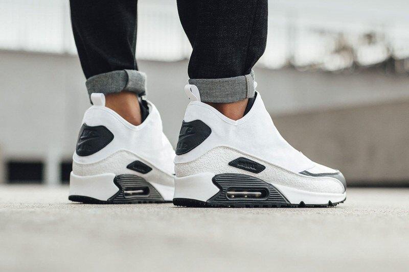 Nike Air Max 90 Utility White/Black // Available Now | Nice Kicks