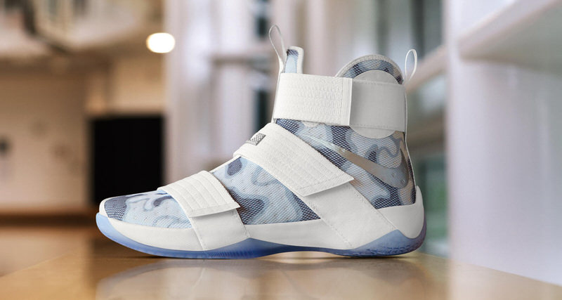 "Nike Zoom LeBron Soldier 10 iD Adds ""White Camo"" Option for Veterans Day"