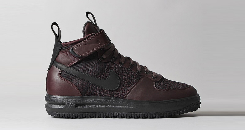 nike lunar force 1 flyknit workboot deep burgundy. Black Bedroom Furniture Sets. Home Design Ideas