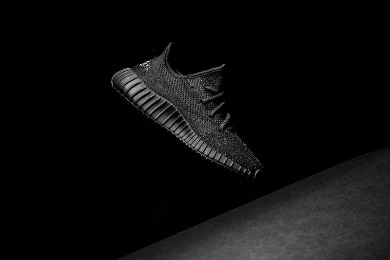 yeezy 350 v2 black in stock