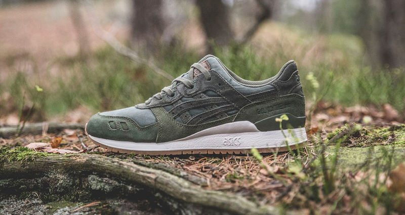 """Sneakersnstuff x ASICS Tiger """"Forest"""" Pack"""