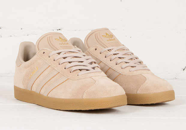 adidas Gazelle Appears in Suede \u0026 Gum