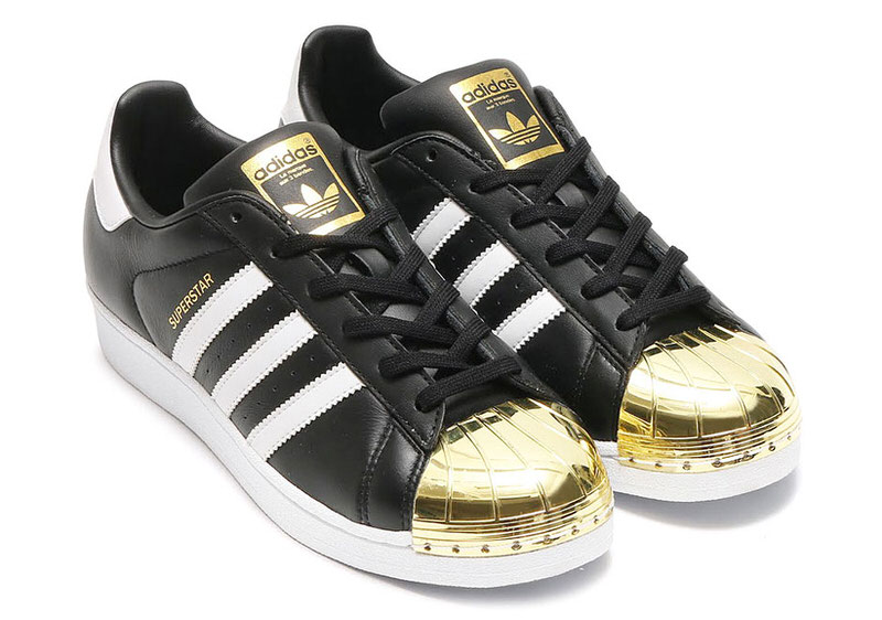 Gold and Silver Shell Toes