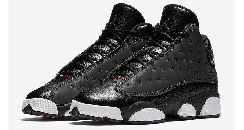 air jordan 13 black and pink