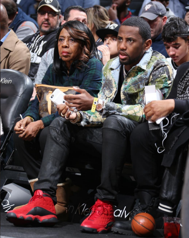 "Fabolous in the Air Jordan 13 ""What is Love"""