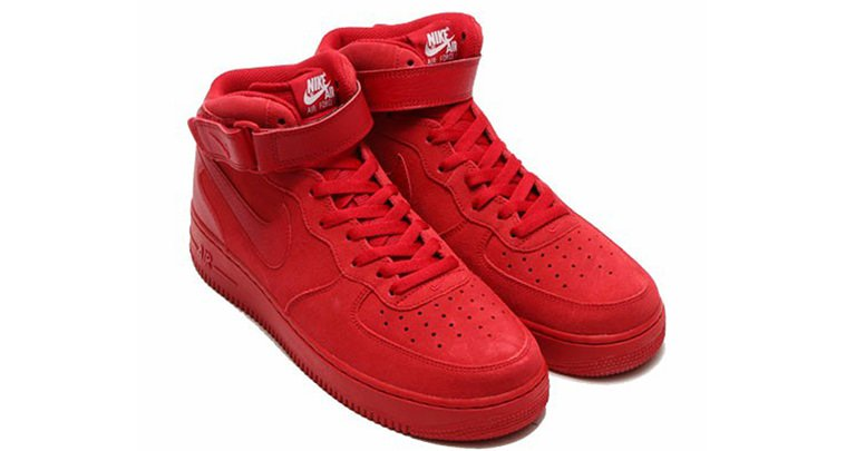 """Nike Air Force 1 Mid """"Red"""""""