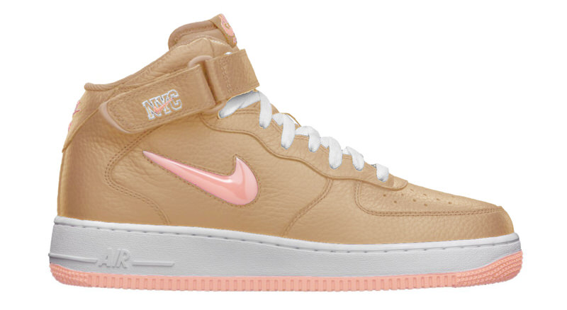 nike air force one linen