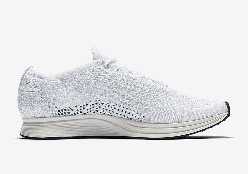 Nike Flyknit Racer White/Sail