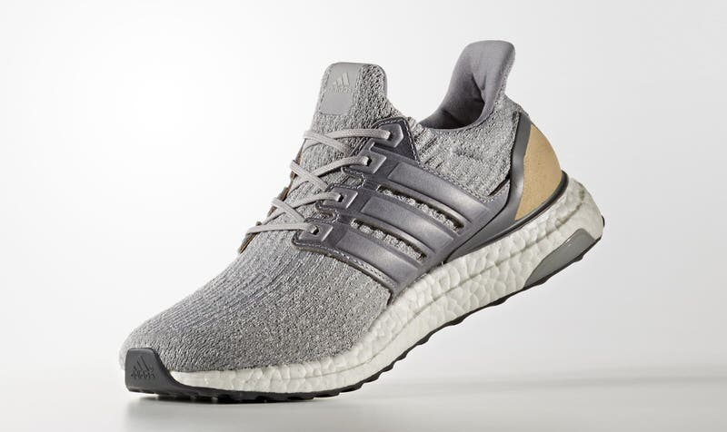 adidas Ultra Boost 3.0 Gets Grey/Pink Update