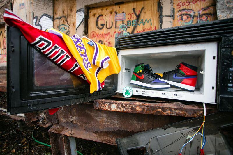 "Air Jordan 1 ""What the Legend"" by Malcolm Garret"