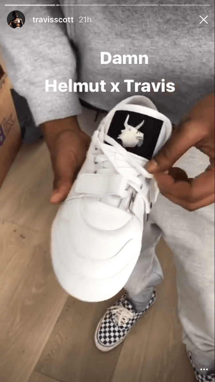 Travis Scott x Helmut Lang Footwear & Apparel Collaboration