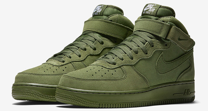 nike air force 1 mid 07 olive