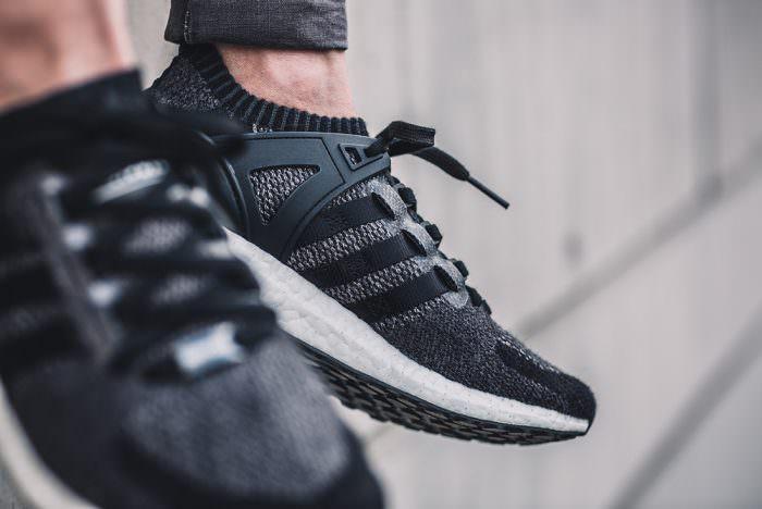 Adidas Eqt Support Primeknit Black