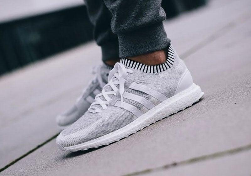Adidas Eqt White Grey
