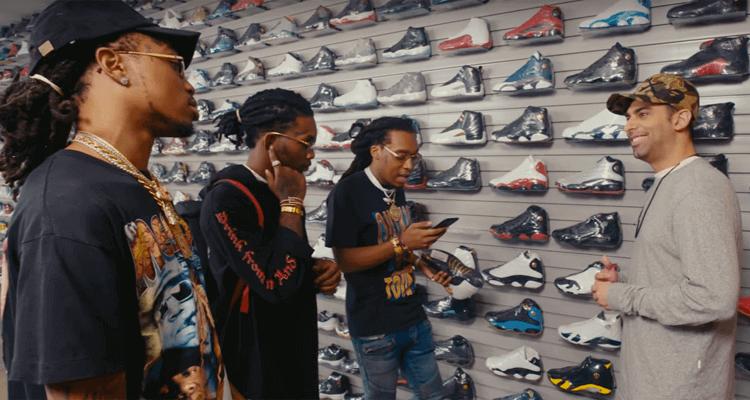 Joe La Puma Goes Sneaker Shopping with