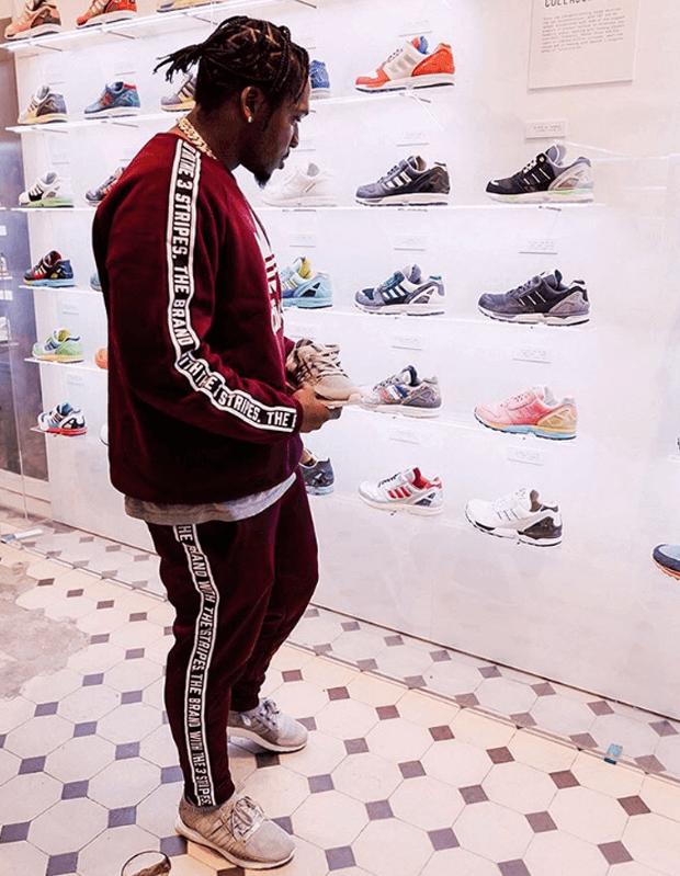 Pusha T in the Pusha T x adidas EQT