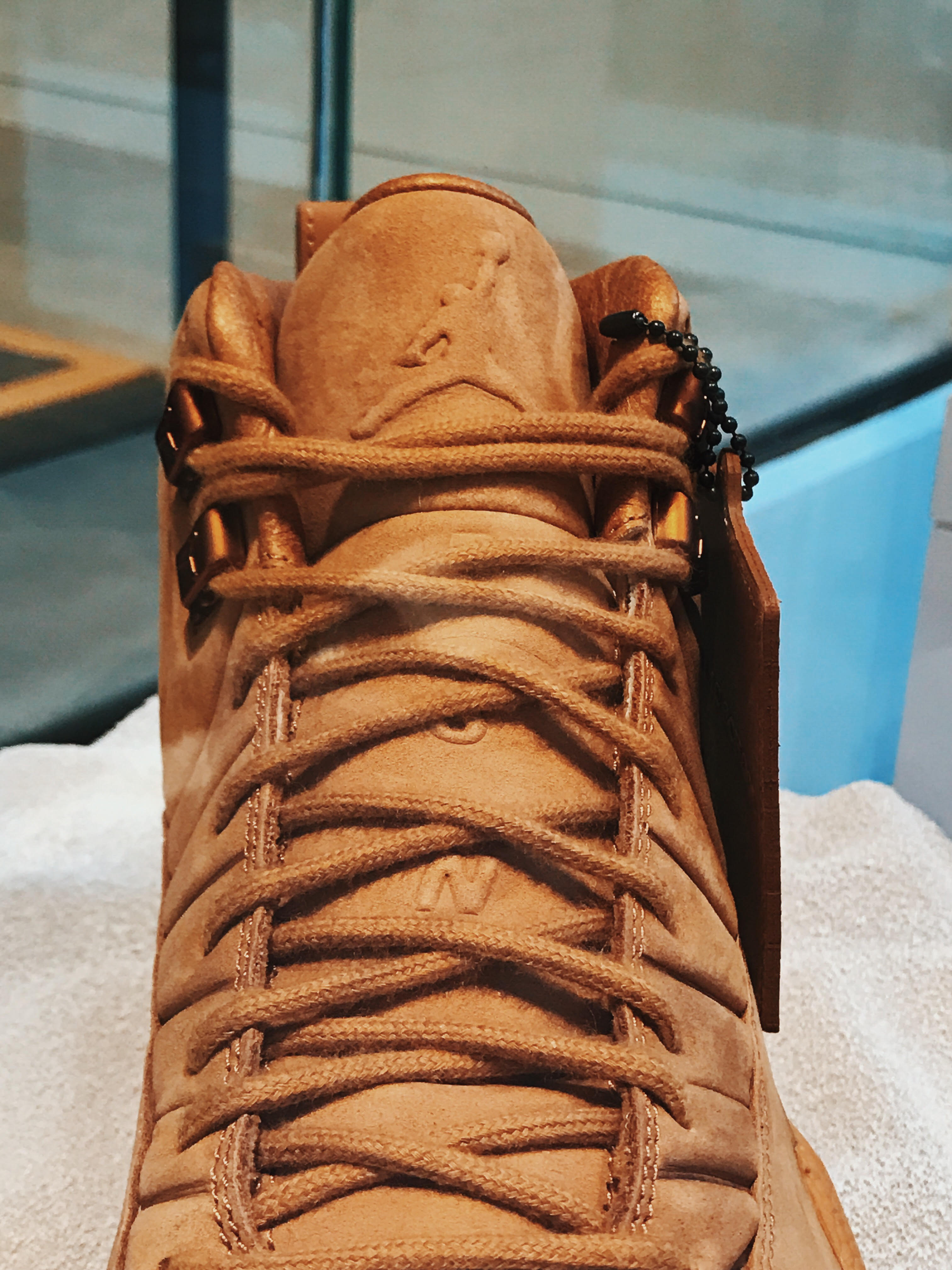"PSNY x Air Jordan 12 ""Wheat"""