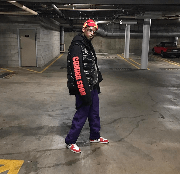 "A$AP Ant in the Air Jordan 1 ""Chicago"""