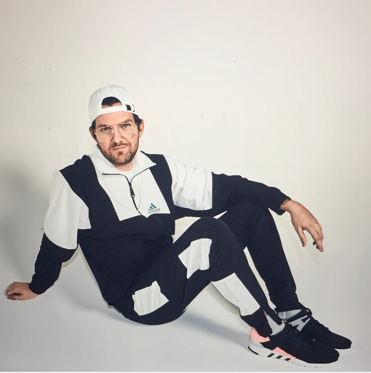 "Dillon Francis in the adidas EQT Support RF ""Turbo"""