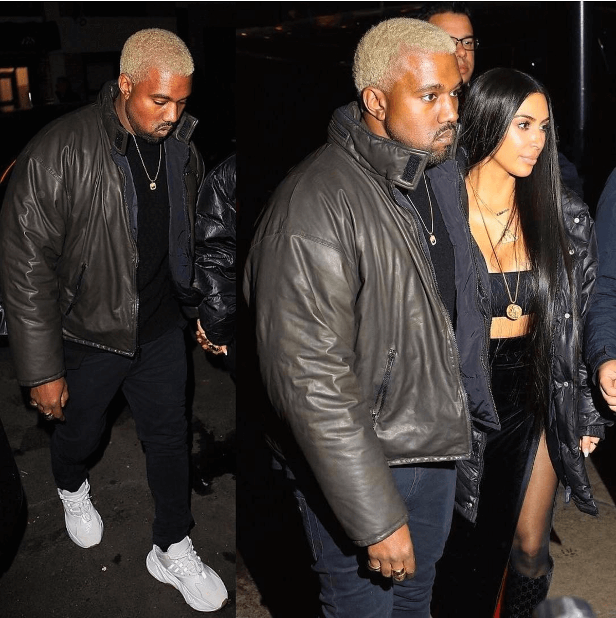 Kanye West in an upcoming adidas Yeezy Runner
