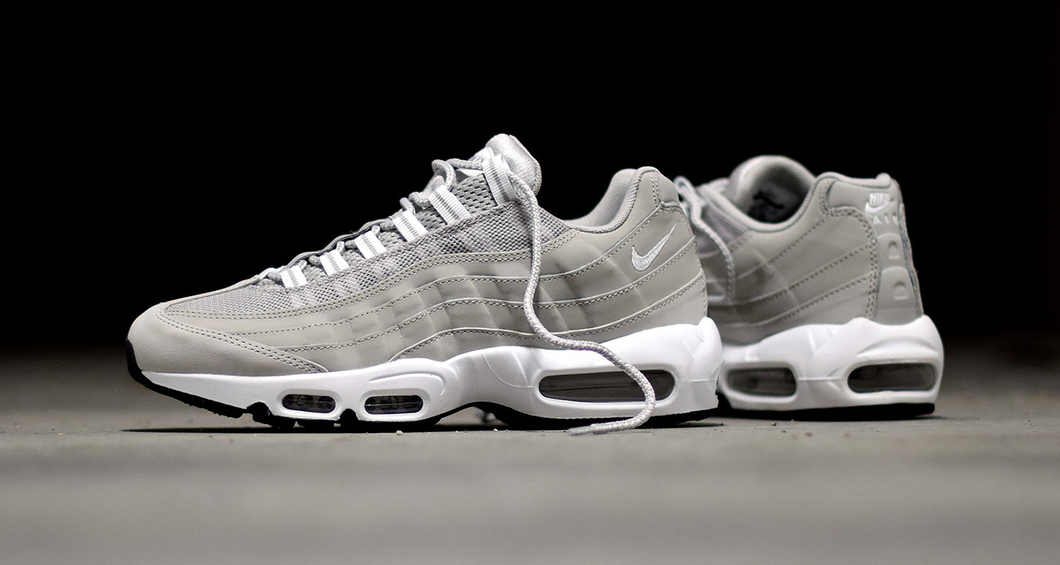 nike air max 95 granite available now nice kicks. Black Bedroom Furniture Sets. Home Design Ideas