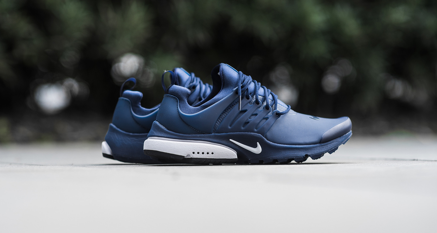 nike air presto low utility binary blue available now. Black Bedroom Furniture Sets. Home Design Ideas