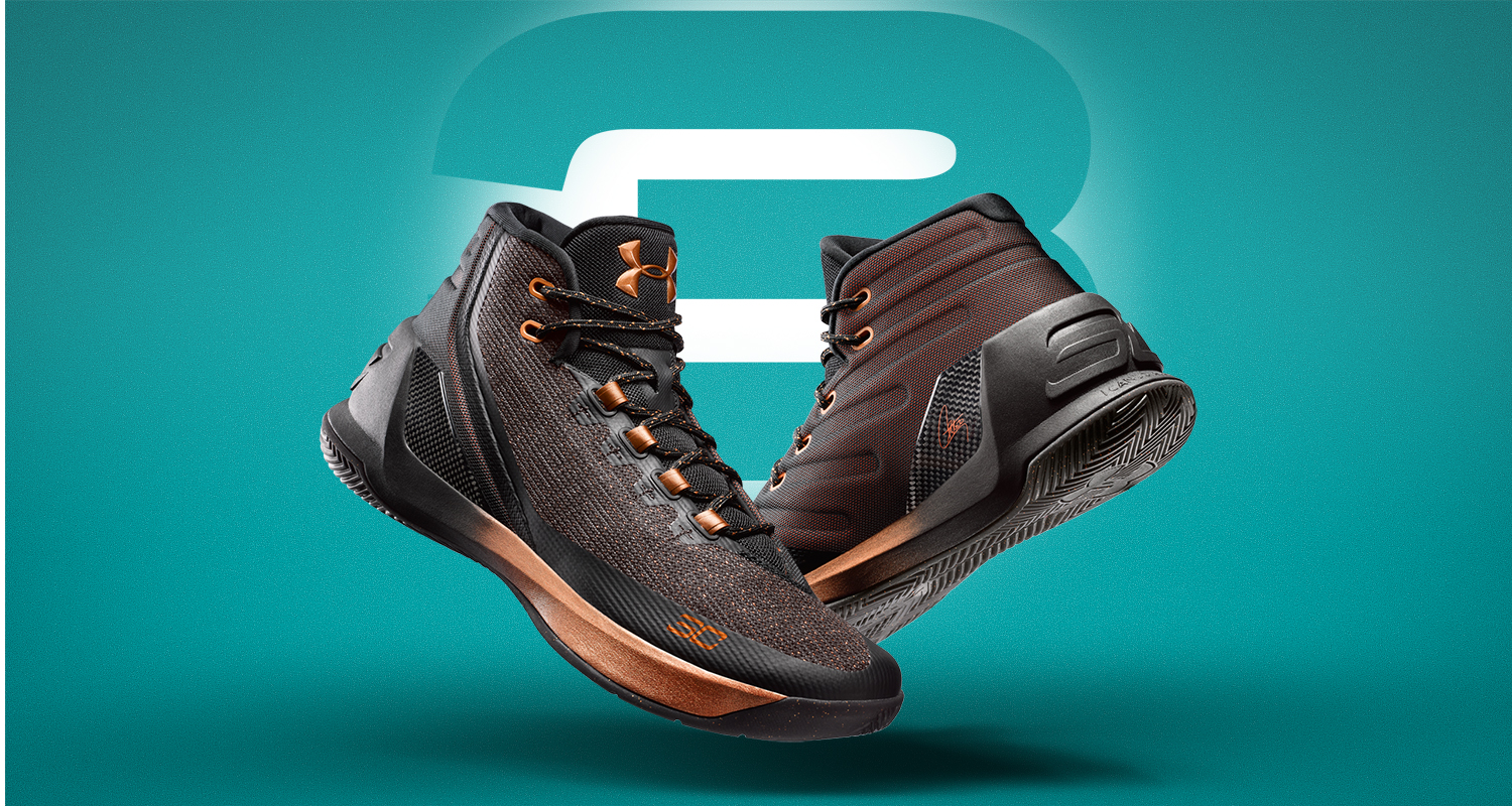 """Under Armour Curry 3 """"Brass Band"""""""