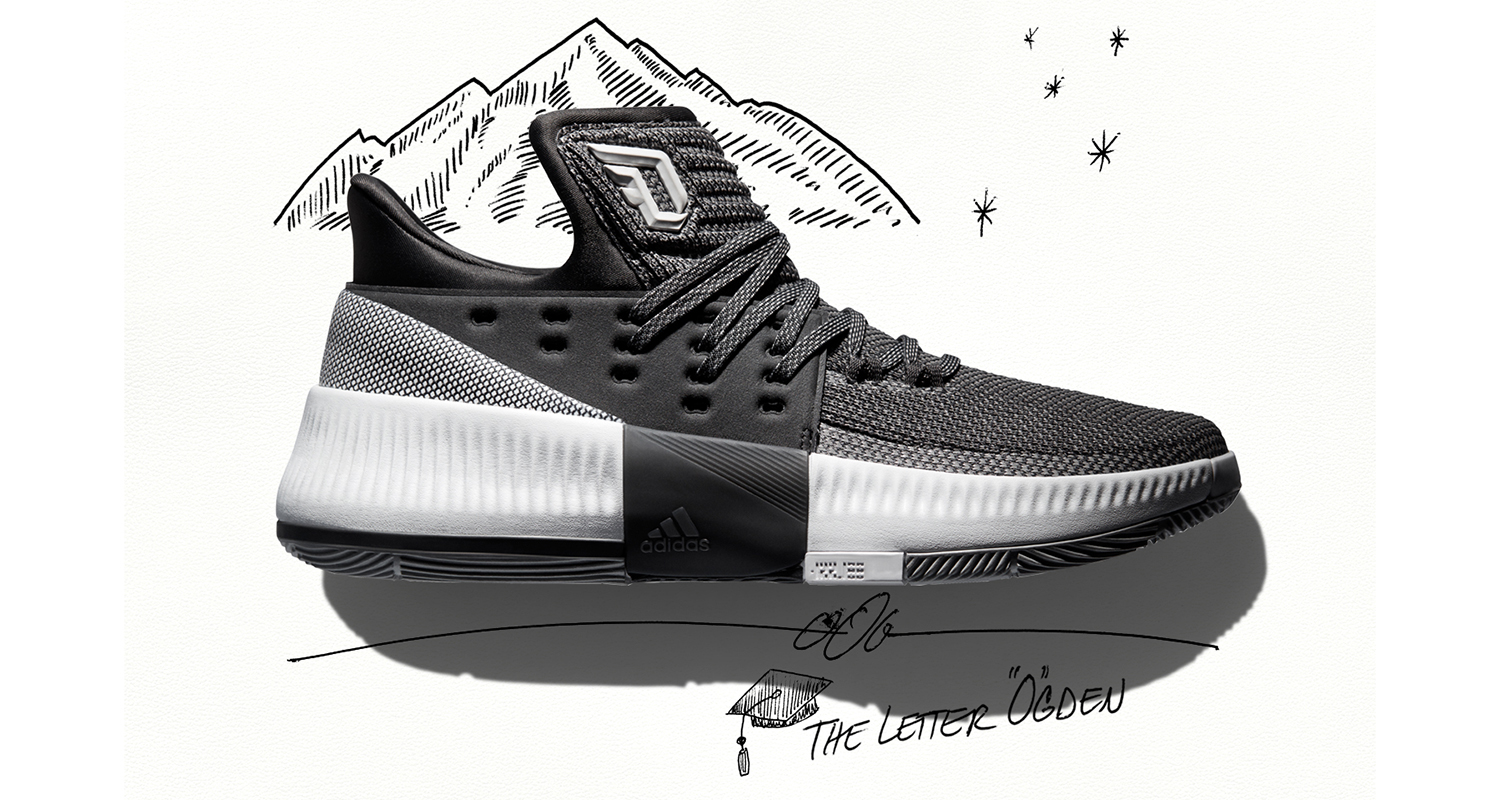"""adidas Dame 3 """"Wasatch Front"""""""