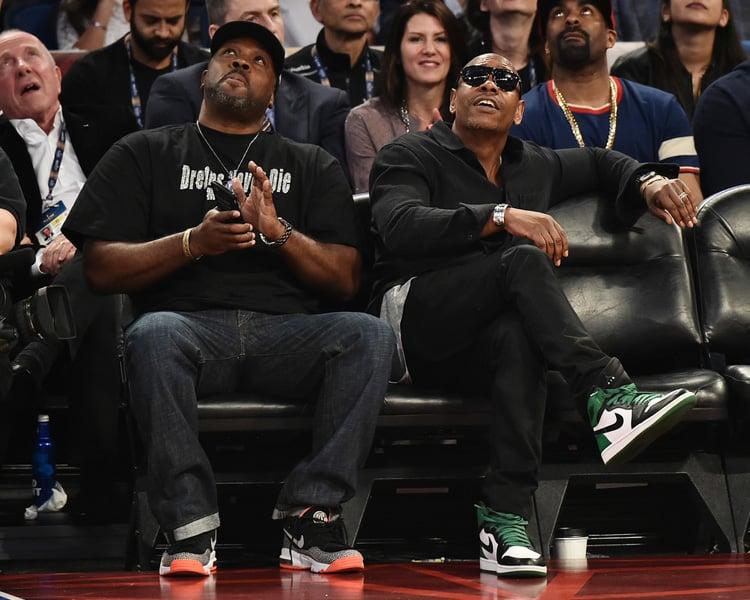 "Dave Chappelle in the Air Jordan 1 DMP ""Celtics"""