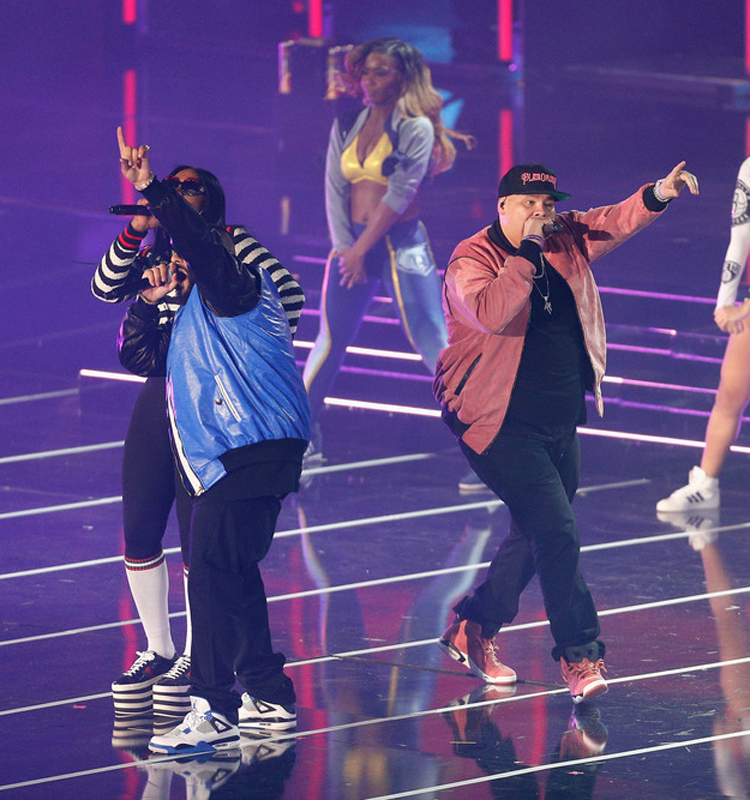 "DJ Khaled in the Air Jordan 4 ""Motorsport"" & Fat Joe in the Air Jordan 6 ""Desert Clay"" Macklemore PE"